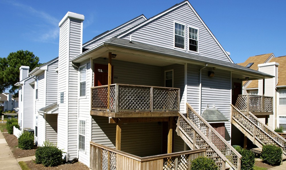 Exterior Ofoapartments In Virginia Beach Virginia