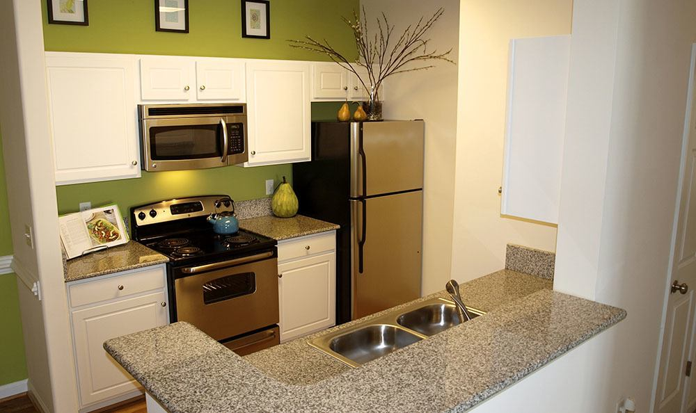 Kitchen At Apartments In Chester Virginia