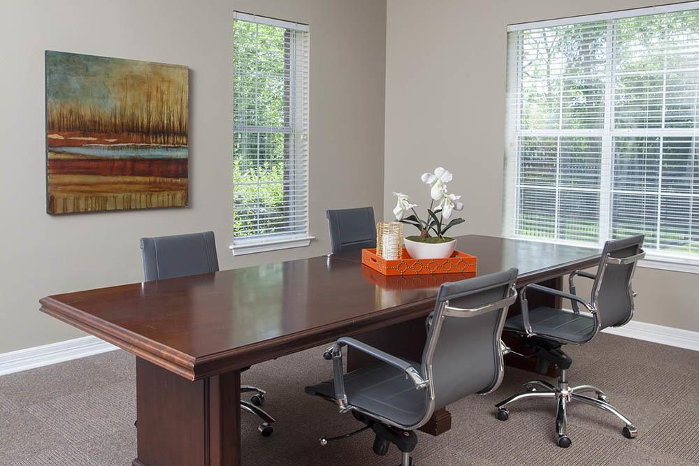 Tenant Meeting Room At Fountain Lake