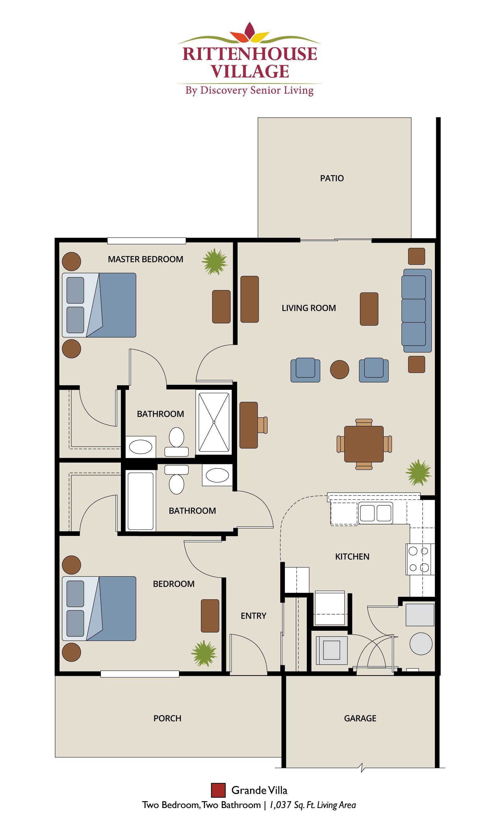 Senior living floor plans for Senior living house plans