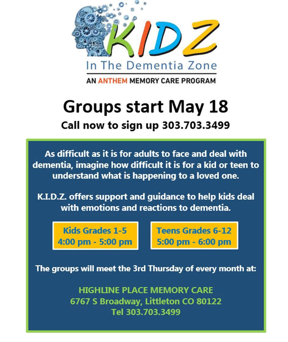 Kidz in Dementia Zone
