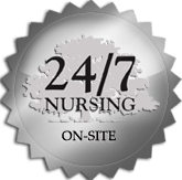 Maplewood at Cuyahoga Falls has on-site certified nursing staff 24 hours a day.
