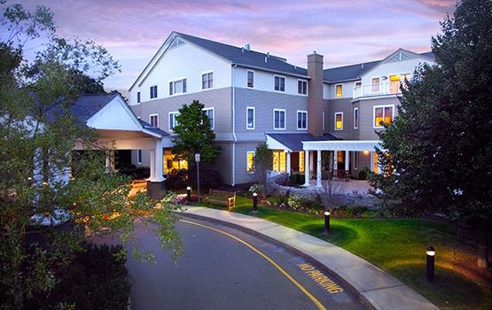 Maplewood at Orange in Orange, CT, is gorgeously architected.
