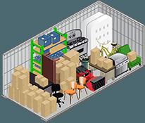 10x20 storage unit in North Las Vegas
