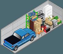 10x30 storage unit in Henderson
