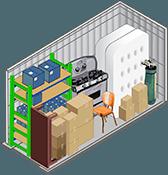 5x10 storage unit in North Las Vegas