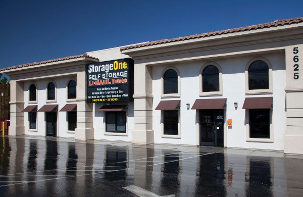 Front Of Our Las Vegas Storage Facility