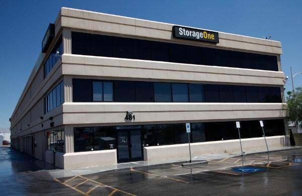 Our Building At Las Vegas Storage Units