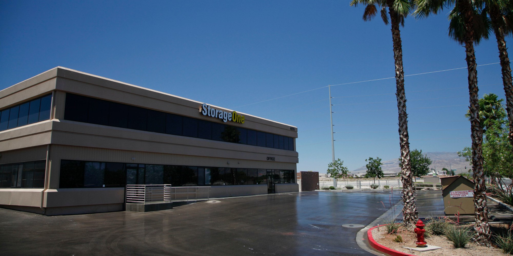 Self storage in Las Vegas NV & Self Storage Units in Las Vegas NV | StorageOne 215 Beltway u0026 North ...