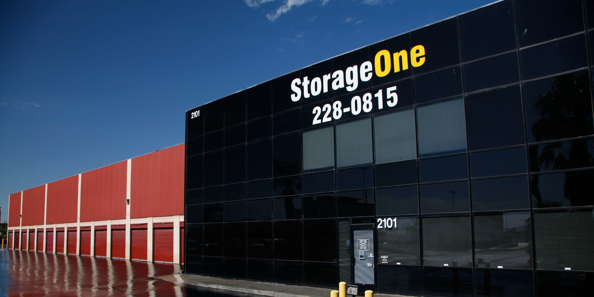 self storage units in las vegas nv storageone lake mead u s 95. Black Bedroom Furniture Sets. Home Design Ideas