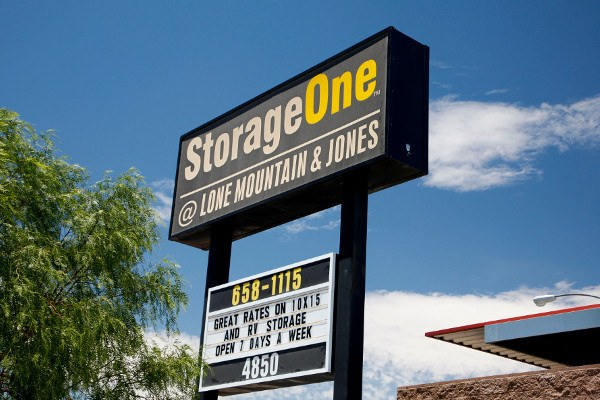Our Storage Entrance In Las Vegas