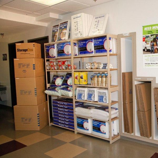 Las Vegas Nevada storage supplies