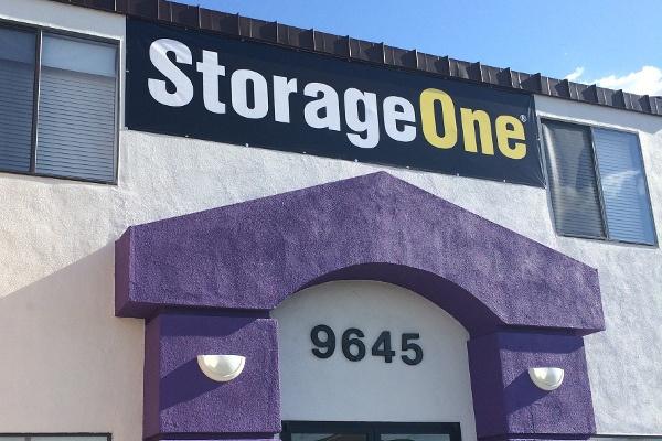 Exterior Of Our Las Vegas Storage Units