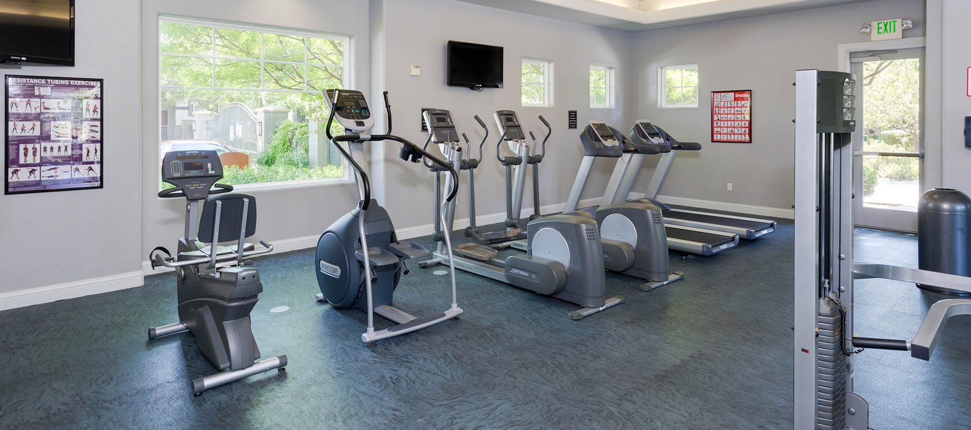 24-Hour Fitness Center at The Artisan Apartment Homes