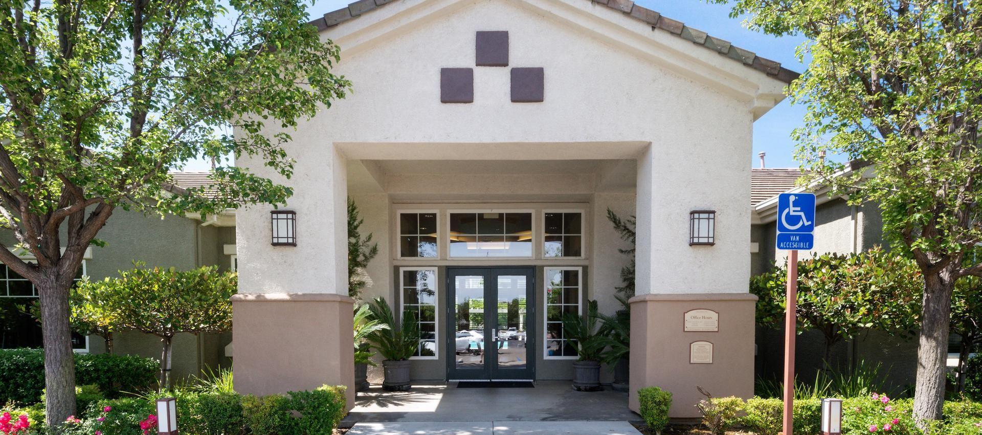 The Artisan Apartment Homes's Main Entrance in Sacramento, CA
