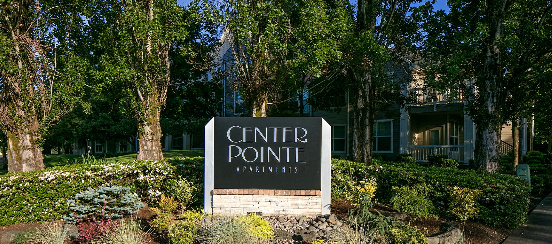 Signage at Center Pointe Apartment Homes in Beaverton, OR
