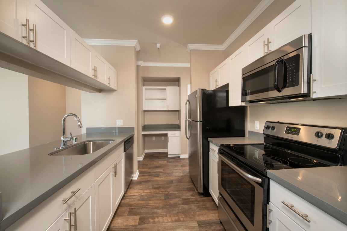 Renovated Kitchen at Esplanade Apartment Homes