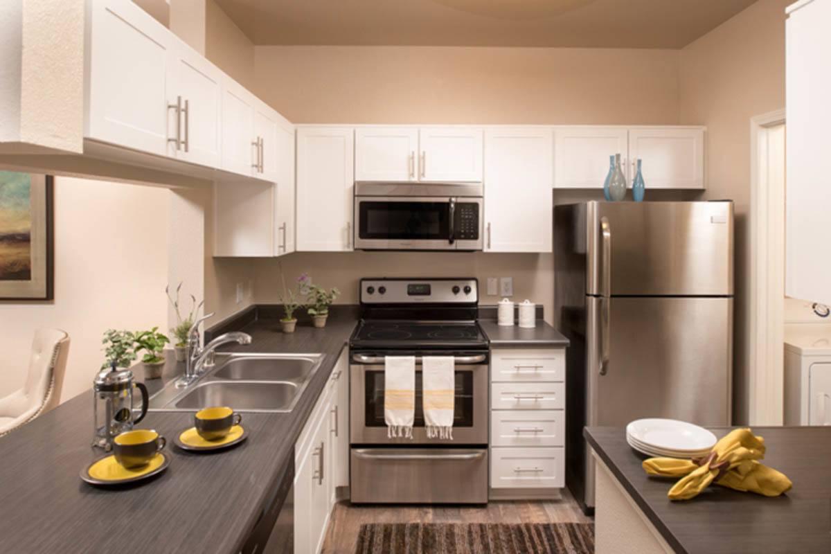 Luxury Kitchen at Hidden Hills Condominium Rentals