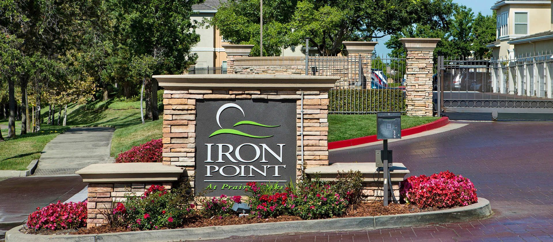 Signage at Iron Point at Prairie Oaks at Iron Point at Prairie Oaks in Folsom, CA