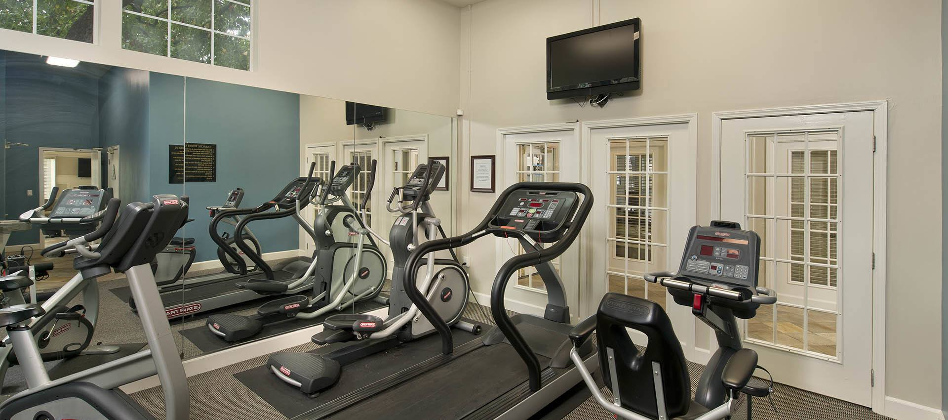 Fitness Center at Mill Springs Park Apartment Homes in Livermore