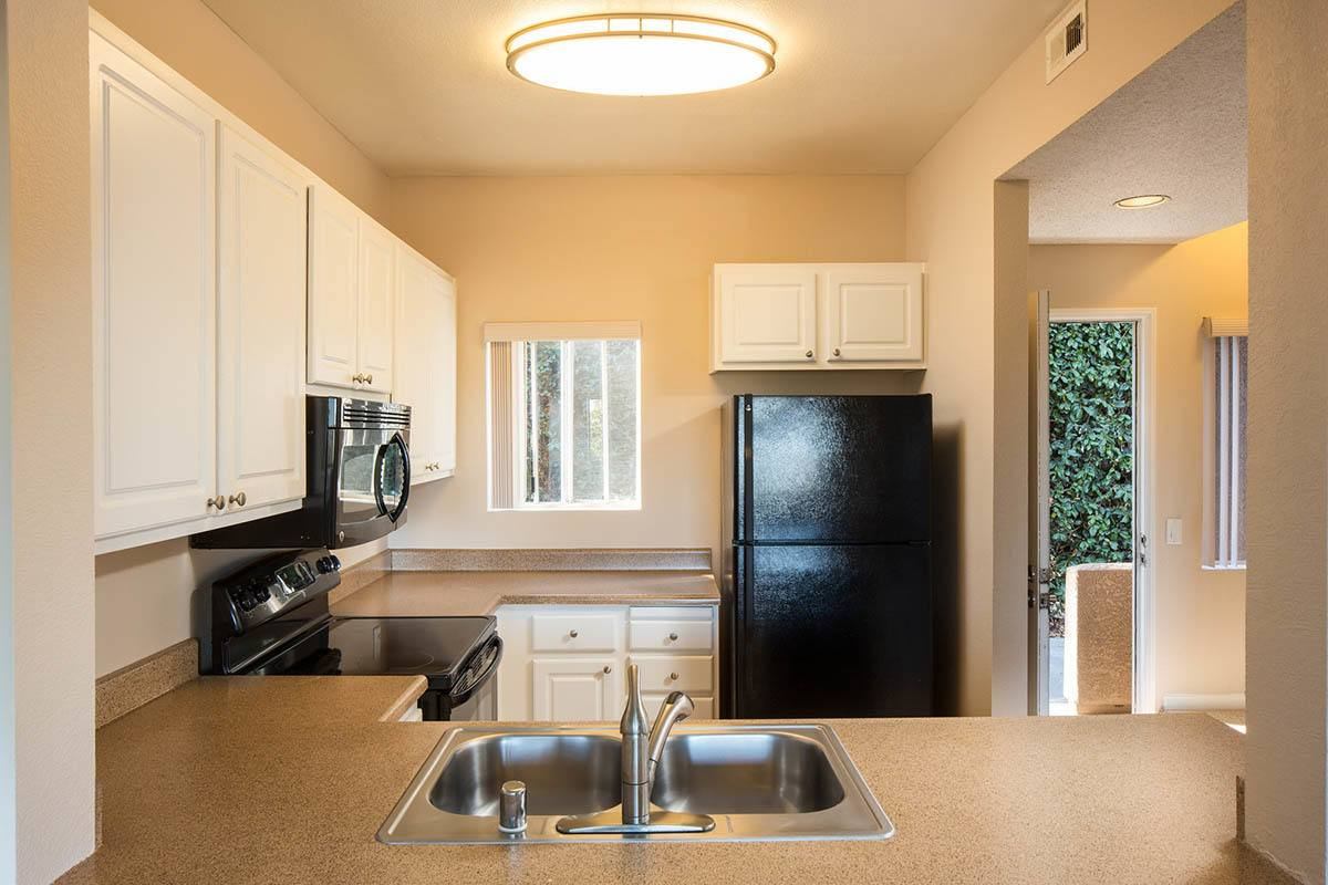 Fully Equipped Kitchen at Niguel Summit Condominium Rentals