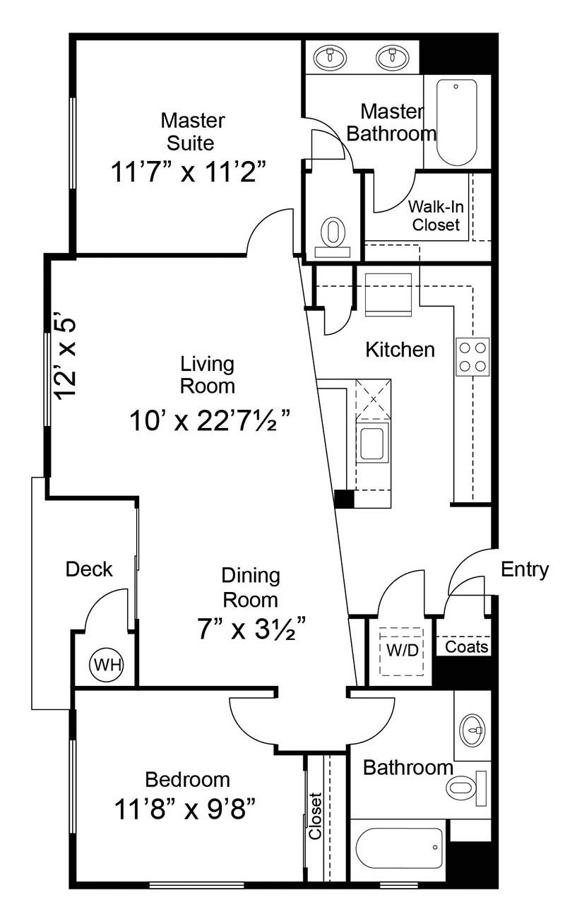 Luxury 1 2 3 Bedroom Apartments in Petaluma CA