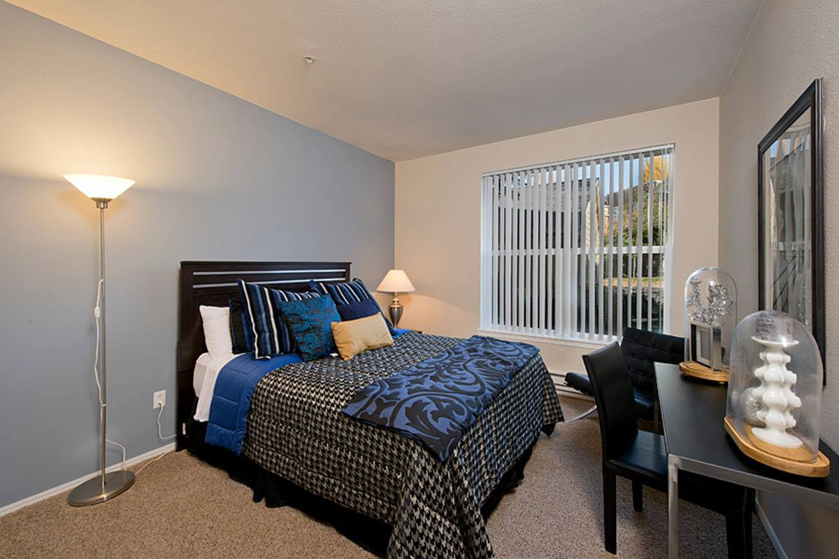 Spacious Bedroom at Reserve at Capital Center Apartment Homes