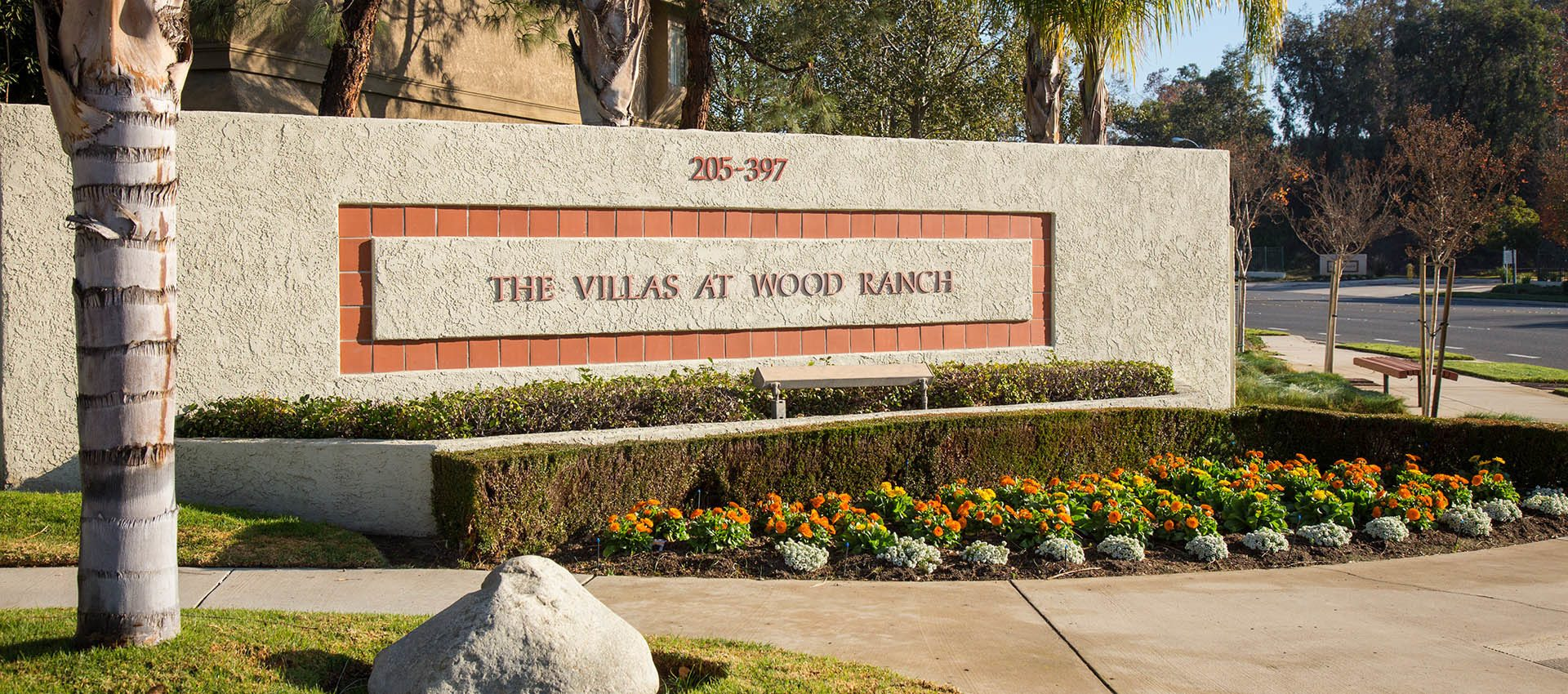 Signage at The Villas & Overlook at Woodranch Apartment Homes in Simi Valley, CA