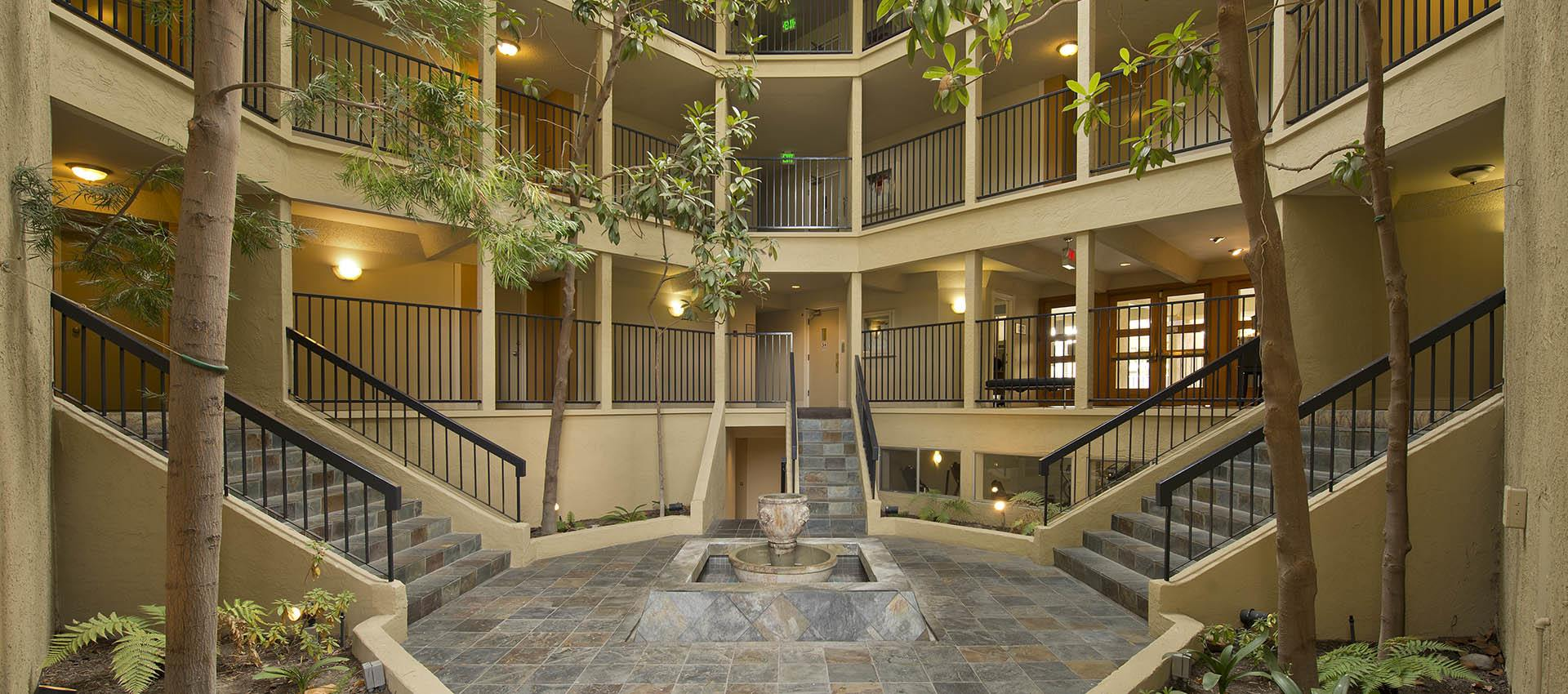 Atrium at Trinity House Apartment Homes in Walnut Creek