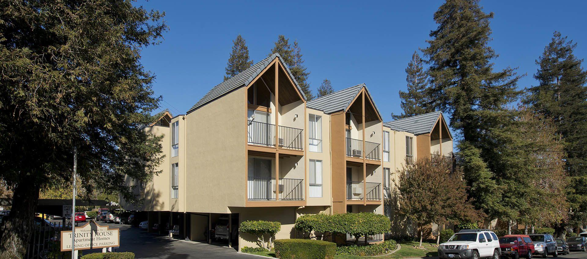 Exterior at apartments in Walnut Creek, CA
