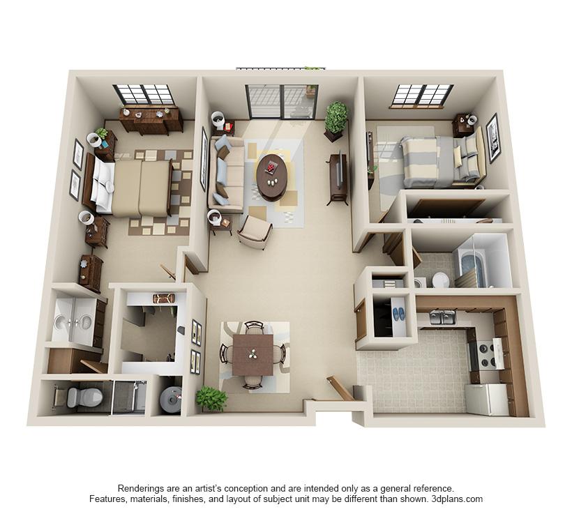 Maple floor plan at Pinewood Creek