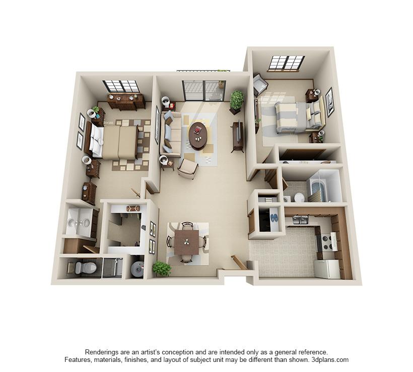 Willow floor plan at Pinewood Creek