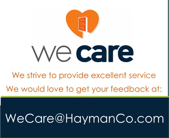 Hayman Cares