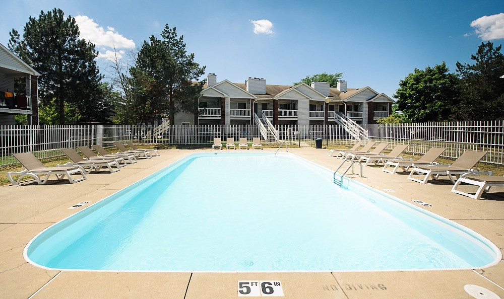 Enjoy the communities pool at Country Club Apartments