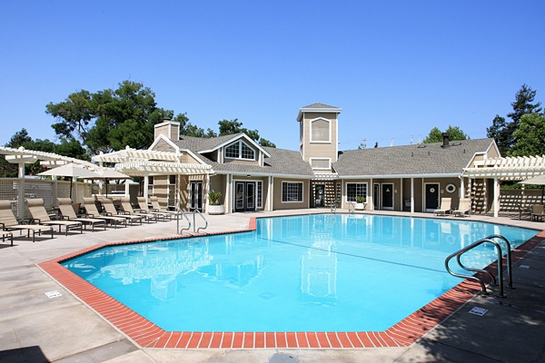 Pool at The Villages in Santa Rosa, CA