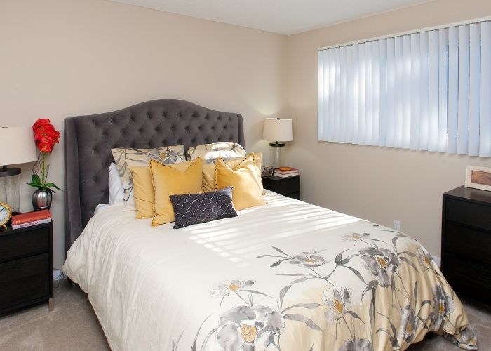 Master bedroom at Countrywood