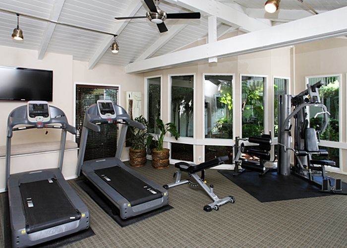 Fitness center at Countrywood in Fremont
