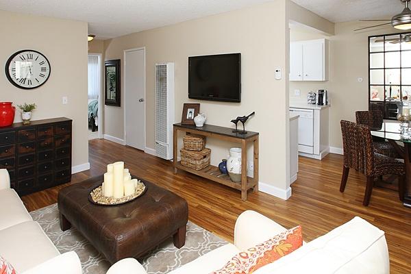 Living room at Del Prado