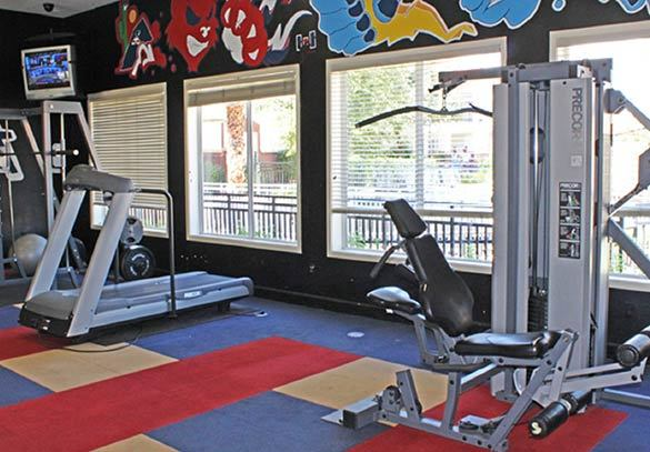 Tucson apartments offering residents a fitness center