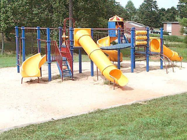 Greenville apartment homes offering a variety of amenities including a playground