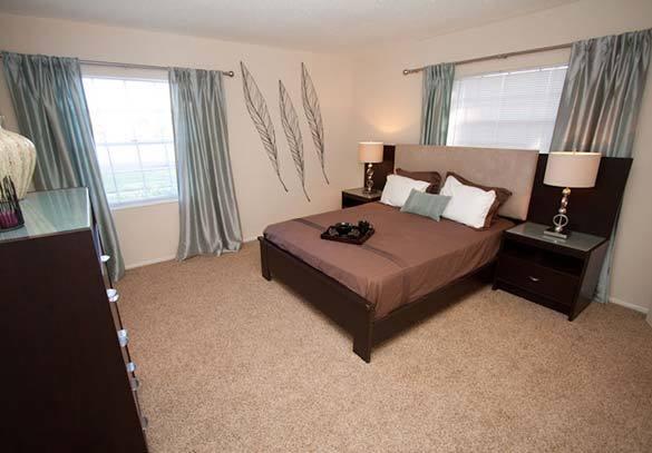 Bedroom at Andover at Winter Park