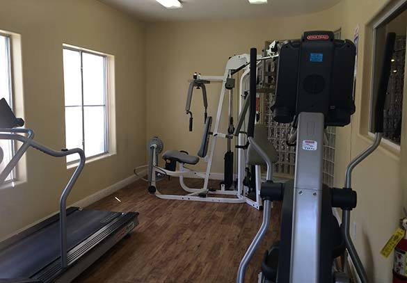 Stay fit at our Las Vegas apartments fitness center