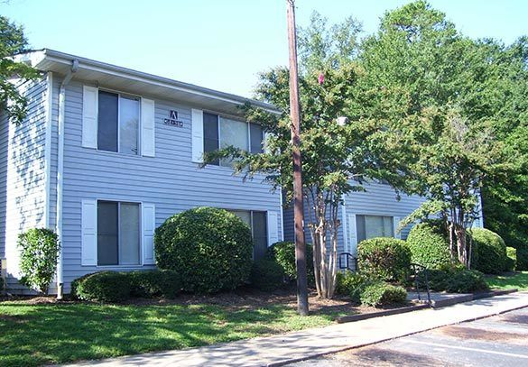 Exterior view of our Spartanburg apartment homes
