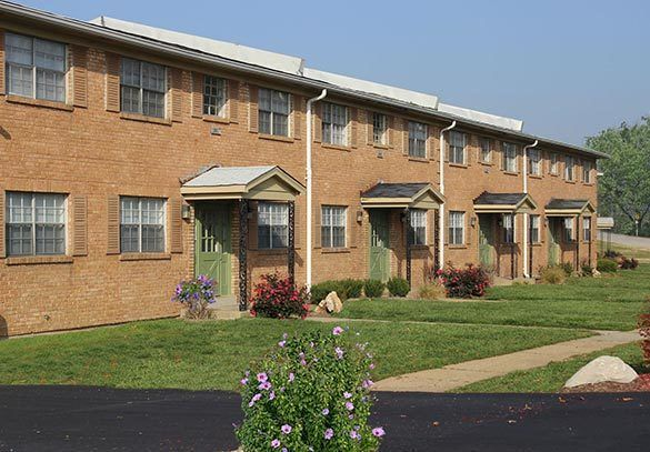 Spartanburg apartments with brick exterior