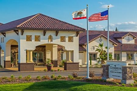 Driveway At Senior Community In Fresno California