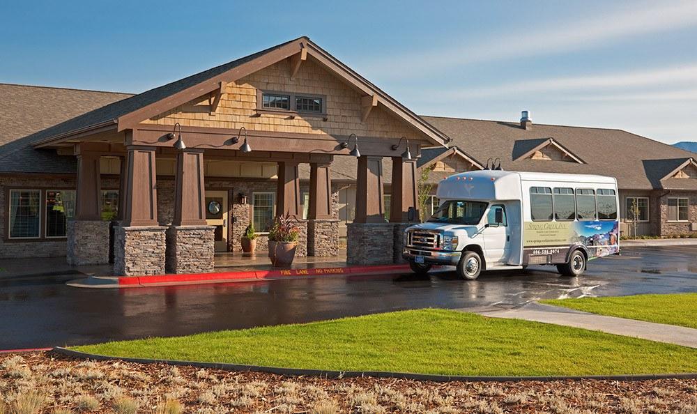 Facility Entrance Bozeman Montana Memory Care
