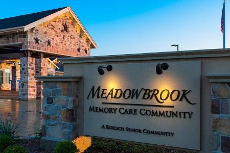 Sign To Arlington Texas Memory Care Community