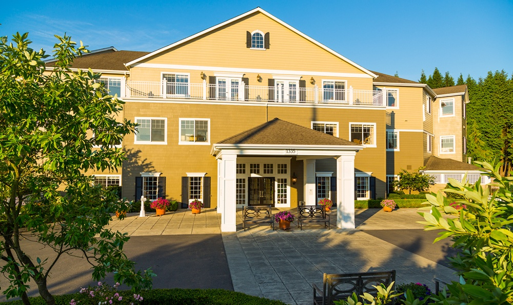 Driveway At Our Longview Senior Living Community