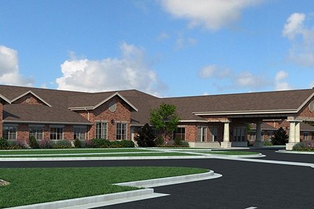 Rendering Northbrook Senior Living Community