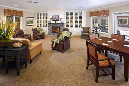 Common Room at Maple Glen